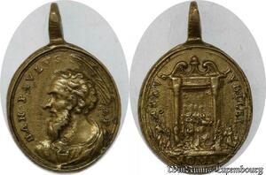 S9294 Rare Plaque Papal Vatican San Pavluvs Anno Jubilee Roma ->Make offer