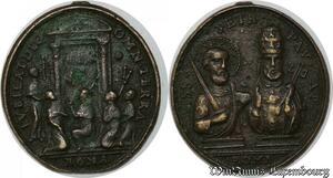 S9298 Rare Plaque Papal Vatican SS PEtr Pav Ap Roma ->Make offer
