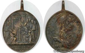 S9299 Very Rare Plaque Papal Vatican Sanctvs Petrvs Roma Anno Jubilem XVIII