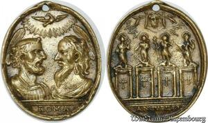 S9304 Very Rare Plaque Papal Vatican Roma Anno Jubilem XVIII ->Make offer