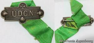 S9343 Médaille Papal Vatican Pope U . D . C . N >Make offer
