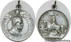 S9351 Médaille Papal Vatican Leo XIII Jeanne D'arc 1884 1909->Make offer