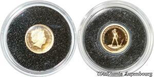 S9439 Rare Solomon 5 Dollars Elizabeth II 2011 7 Wonders Rhodes Or Gold PF BE