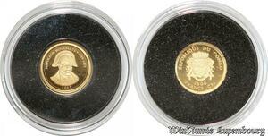 S9483 Congo 1500 Francs CFA Bonaparte 2007 Or Gold PF BE -> Faire Offre