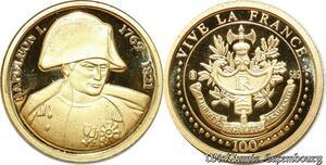 S9488 France Médaille Napoléon I 2001 PF BE Or Gold -> Faire Offre