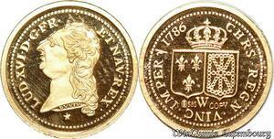 S9501 France Médaille Ecu d'or Louis XVI 2006 Or Gold PF BE -> Faire Offre