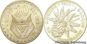 S9672 Rwanda 20 Francs Essai 1977 FDC -> Faire Offre
