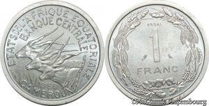 S9706 Cameroun 1 Franc Essai Elands Bazor 1969 FDC -> Faire Offre