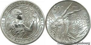 S9714 Afrique Centrale 500 Francs Essai Lambert 1976 FDC -> Faire Offre