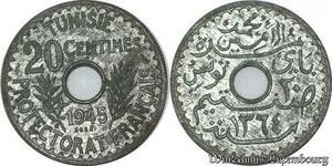 S9741 Tunisie 20 Centimes Essai Lamine Bey 1364 1945 FDC -> Faire Offre