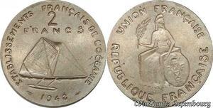S9783 Océanie Polynésie 2 Francs Essai Bâteau Arivaud 1948 FDC -> Faire Offre