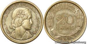S9933 20 Centimes Essai Cochet 1961 FDC -> Faire Offre