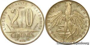 S9936 20 Centimes Essai Rousseau 1961 FDC -> Faire Offre