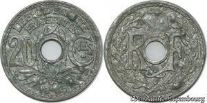 S9939 Fautée 20 Centimes Lindauer 1945 Gondolée -> Faire Offre