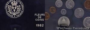 S9945 Coffret Fleur de Coins 1982 FDC -> Faire Offre