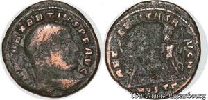 S6015 Maxentius Follis Ostia Offizin 309-312 Imp C Maxentivs PF AVG