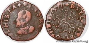 S6073 Pays-Bas Espagnols Franche Comté denI 1578 Lion Dole ->Faire Offre
