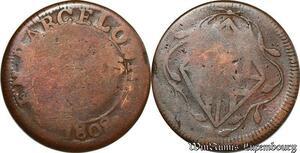 S6142 Espagne José Napoléon 4 Quartos 1810 Barcelone ->Faire Offre