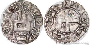 S6164 Rare Louis VI denI 1er type Dreux Argent ->Faire Offre