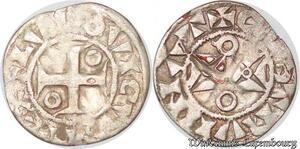 S6172 Rare Louis VII denI 1er type Mantes Argent ->Faire Offre