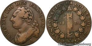 S6209 Constitution 12 denIs Louis XVI Francois 1792 A Paris cédille