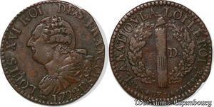 S6214 Rare Constitution 3 denIs Francois An 4 2d semestre 1792 D Lyon