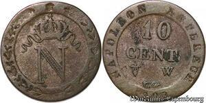 S6244 10 Centimes à L'N couronnée1809 W Lille->Faire Offre