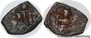 S6260 Byzantine Empire demi Follis Half A identifI ->Faire Offre