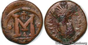 S6265 Byzantine Empire Anastase I 191-518 AE follis 498-518 Constantinople