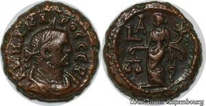 S6294 Egypte Carinus AE Tetradrachm Alexandria AK M A Kapinos Ceb, LA Tyche