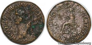 S6307 Néron Drusus sesterce Rome 41-42 Nero Clavdivs Drusus GermanICVS Imp