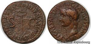 S6343 Tiberius A.D. 14-37 Æ as Rome mint Struck A.D. 35-36 ->Make offer