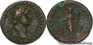 S6349 Domitian 81-96 As Rome Fortvnae Avgvsti / S - C ->Faire Offre