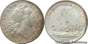 S6411 Jeton Token Louis XV secrètaires du RoiI 1731 Argent Silver