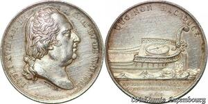 S6466 Jeton Louis XVIII Chambre CommerCebordeaux 1821 depaulis Argent Silver