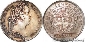 S6501 Rare Jeton Louis XV Paris corporation des orfèvres-bijoutIs Paris