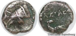 S6590 Syrie 69-31 3/4 Obole Antiochos I Arménienne Bouctin Argent
