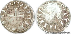S6601 Rare Principauté D'Antioche Bohémond III denI Argent Silver