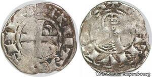 S6607 Rare Principauté D'Antioche Bohémond III denI Argent Silver