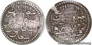 S6613 Turkey Kurus 1106 / 9 AH Türkei Mustafa II AH 1106-1115 Silver