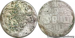 S6620 Turkey Kurus Mahmud I 1143 /29 Silver Constantinople ->Make offer