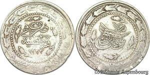 S6655 Turkey Turquie Türkei 6 Kurush Mahmud II 1223/32 Constantinople Silver