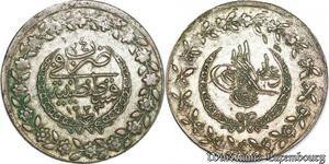 S6659 Turkey Turquie Türkei 100 Para Mahmud II 1223/24 Constantinople Silver